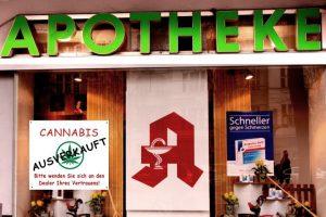 Berlińskim aptekom kończy się cannabis, JamaicaSeeds.pl